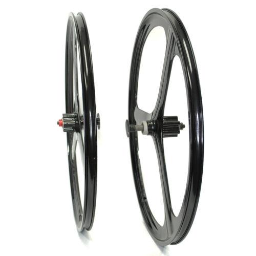 "Fit 26/"" MTB Mountain Bike Mag Wheel Set Wheelset Rims Disc Brake 6//7 Speed Gear"