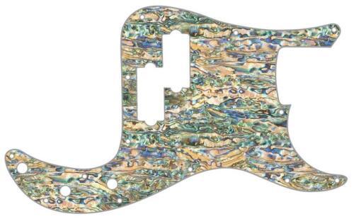 P Bass Precision Graphic Pickguard Custom Fender 13 Hole Guitar Shell Pearl Pau