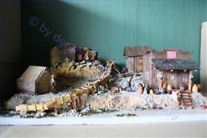 Wild-West-Potters-Mine-70519-Diorama-Goldsucher-Fertigmodell-in-Composite
