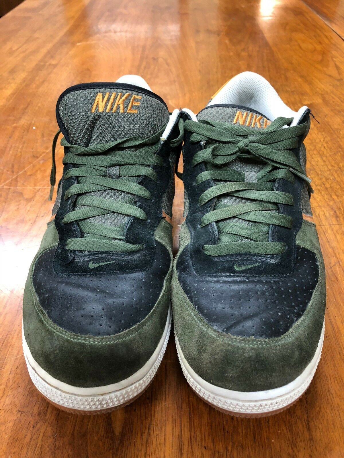2007 Nike Air Zoom Infiltrator A Army Olive Black Chutney White shoes Size 13