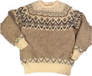 Hilda Ltd Wool Sweater womens L 100% Pure Icelandic Wool Thick-EU ... f528481df