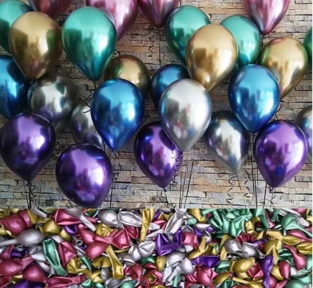 10//50//100//500pcs Mixed Spiral Latex Balloons Wedding Kids Birthday Party Decor