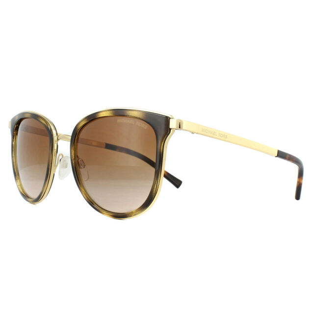 06b9b0d97bb Michael Kors Sunglasses Adrianna 1 1010 110113 Dark Tortoise Gold Brown  Gradient