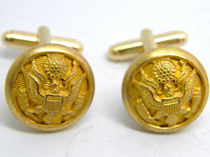 1ST-AMERICAN-SQUADRON-REGIMENT-ARMY-CUFFLINKS-MILITARY-BADGE-GIFT-IN-POUCH