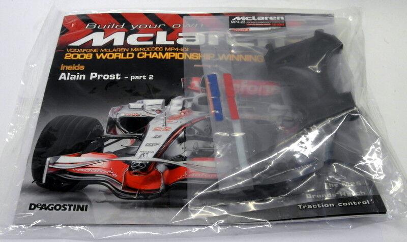 Kyosho Kits 1 8 scale Diecast 057 McLaren MP4-23 F1 Magazine subscription part