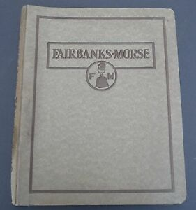 Vintage-1920s-Fairbanks-Morse-Catalog-Bulletins-AC-Motors-Steam-amp-Power-Pumps