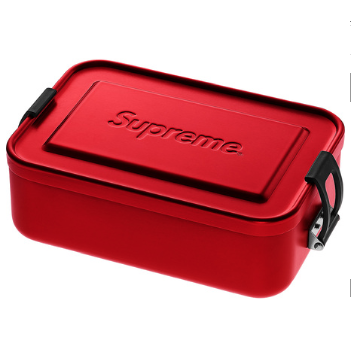 Supreme 18SS SIGG Small Metal Box Portable Lunch Box Storage Box Tool Box Red  sc 1 st  eBay & Supreme 18SS SIGG Small Metal Box Portable Lunch Box Storage Box ...