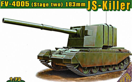 FV4005 STAGE TWO 183 MM JS KILLER SELF PROPELLED ARTILLERY 1//72 ACE 72429