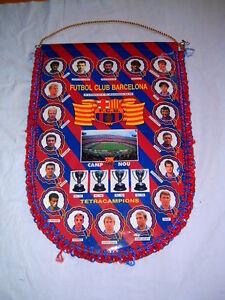 BANDER-N-DEL-FC-BARCELONA-TETRACAMPIONS-1994-1995