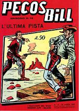 Pecos Bill n°18 albi a colori edizione Mercury