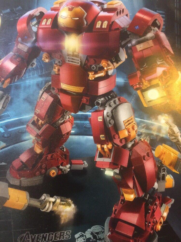 Lego 76105 76105 76105 Marvel Super Heroes El Hulkbuster  Ultron Edition 1363 un. Nuevo  marca