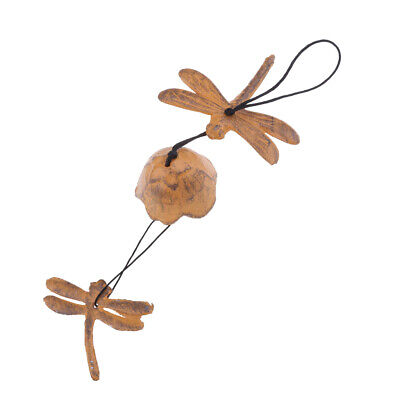 Creative Japanese Cast Iron Windchime Garden Wind Chime Dragonfly Bell