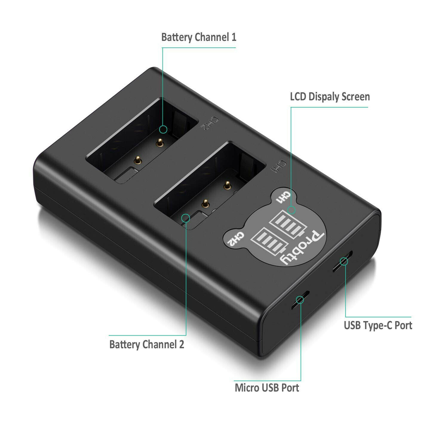 1 Dual Charger only