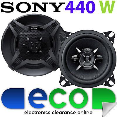 Alfa Romeo 156 97-07 Alpine 16cm 6.5Inch 440 Watts 2 Way Front Door Car Speakers