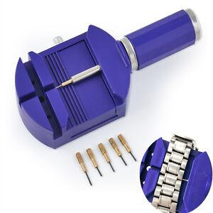 UK-Watch-Link-Remover-Tool-Band-Slit-Strap-Bracelet-5-Pin-Adjuster-Repair-Tools