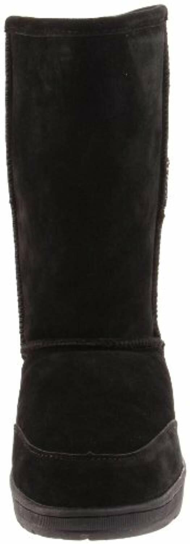 605w Black 10 Inch Sheepskin Boots Bearpaw Meadow 10