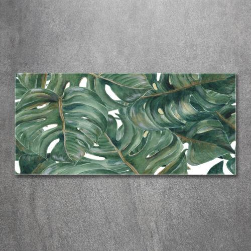 Glas-Bild Wandbilder Druck auf Glas 120x60 Deko Blumen & Pflanzen Monstera