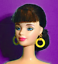 Barbie-Dreamz-LARGE-HOOP-RING-Hoops-EARRINGS-Doll-Jewelry-CHOICE-of-12-COLORS thumbnail 2