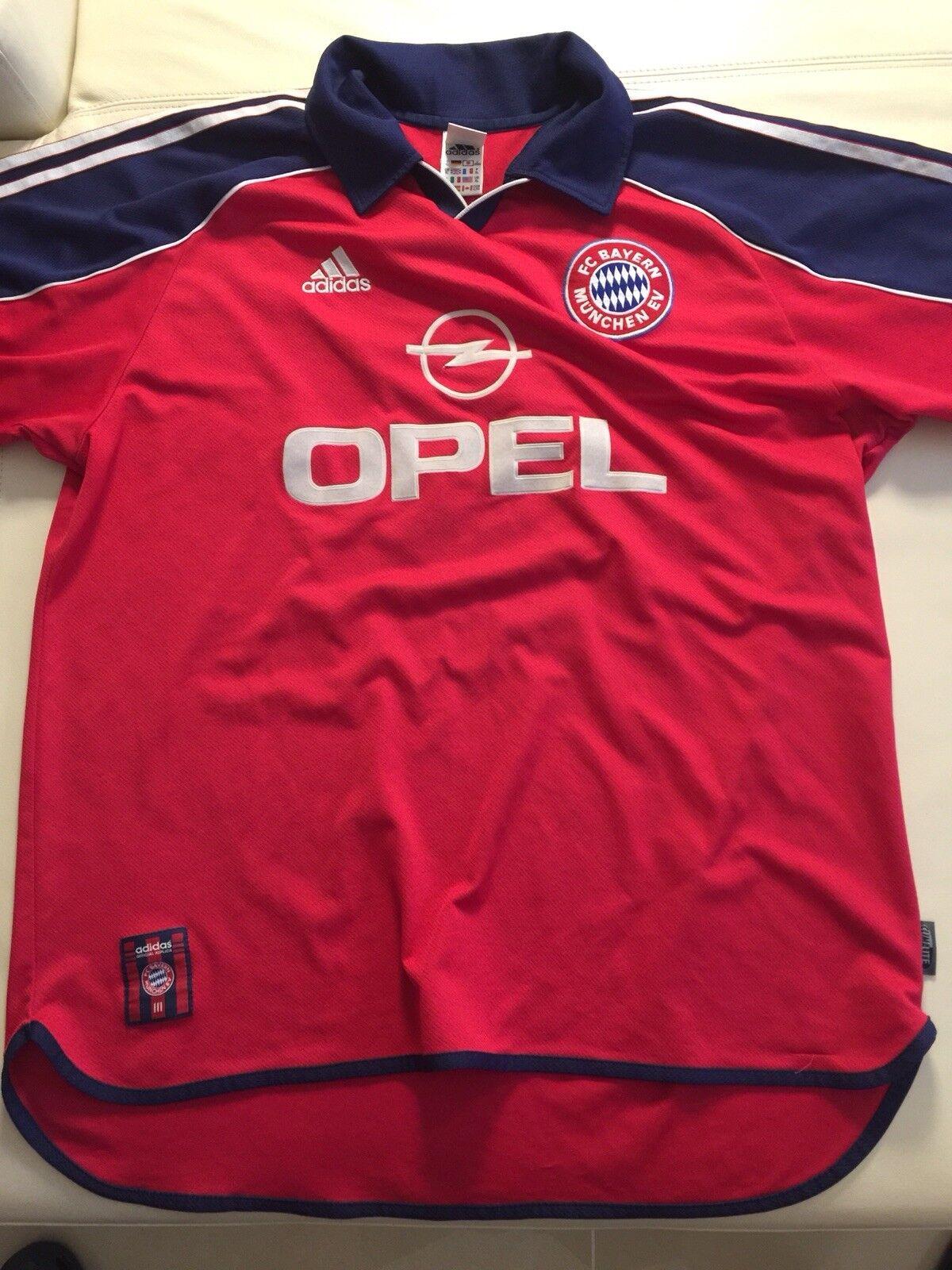 Bayern münchen trikot Opel XL XL XL Elber 1999 2000 17d232