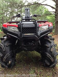 Honda 420 Rancher >> Details About Honda 420 Rancher Snorkel Kit 2014 2019 New Body Style Twin Snorkel Stacks