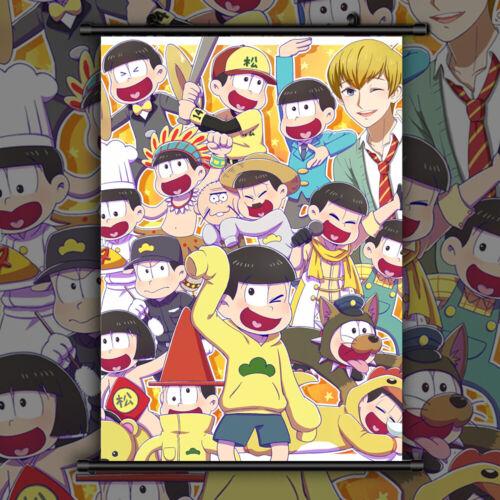 Osomatsu-san HD Anime Manga Wallscroll Poster Kunstdrucke Bider Drucke