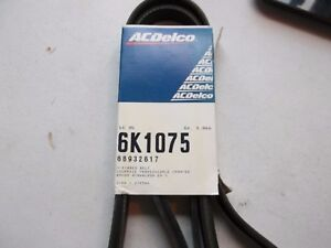 ACDelco-6K1075-Professional-V-Ribbed-Serpentine-Belt