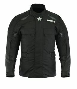 Mens-Motorbike-Jacket-Waterproof-Cordura-CE-Approved-Armours-Motorcycle-Jackets