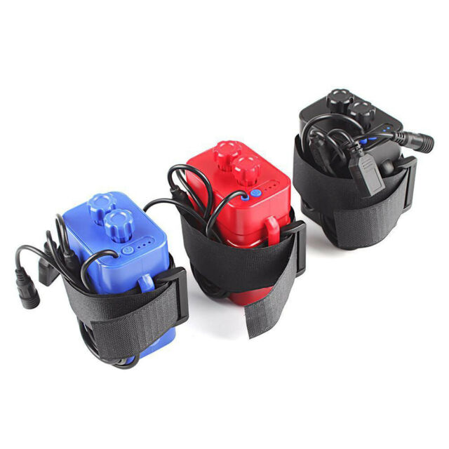 4x 18650 Waterproof Battery Pack Case House Cover Pour Vélo Lampe
