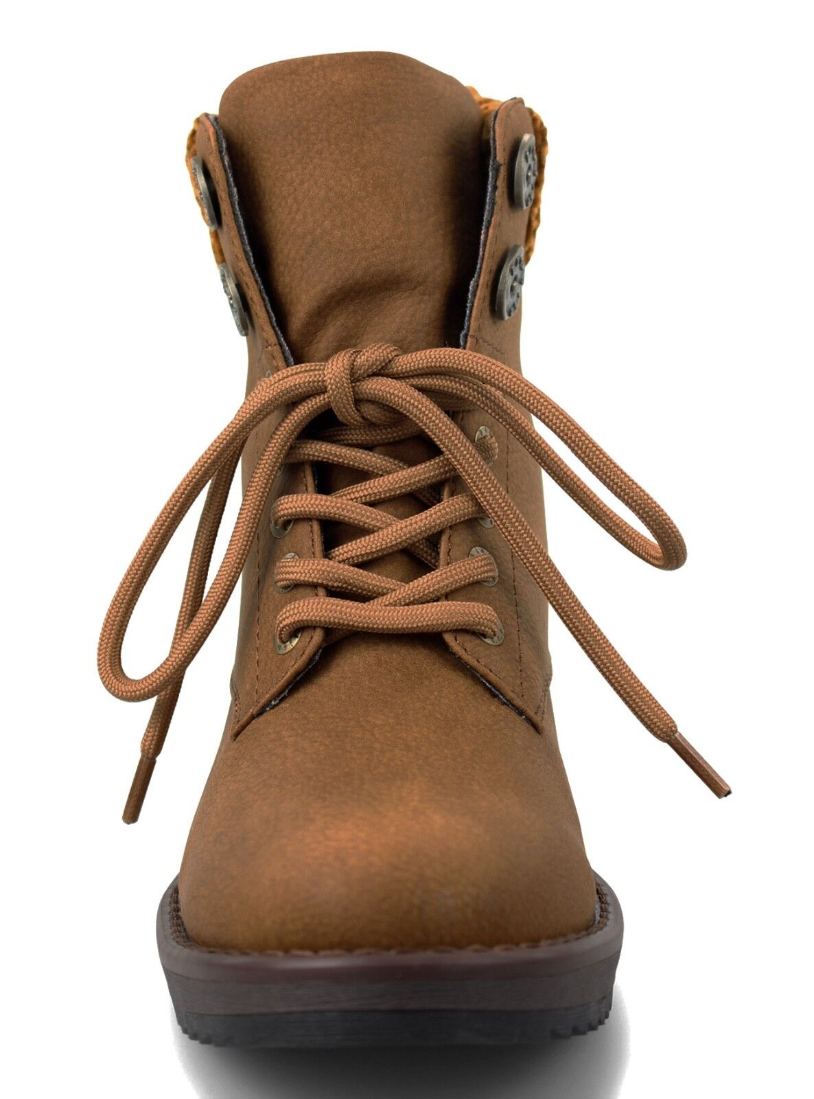 Blowfish NEW Chomper wheat tan lace up up lace low wedge vegan ankle Stiefel    Größes 3-8 5d3c99