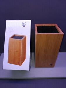 WMF-Messerblock-Bambus-mit-flexiblem-Buersteneinsatz