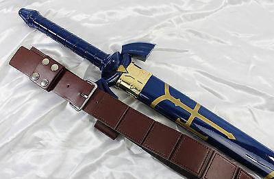 Legend of Zelda Link's Sword Baldric -- medieval/leather/belt/pirate/cosplay NEW