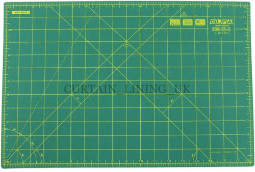 """Olfa Tejido de reparación automática Mat corte de papel de 12/"""" X 18/"""" Verde Profesional RM-IC-C"""