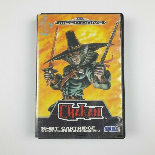 Chakan Ozisoft | Sega Mega Drive | PAL | Good Cond | Missing Manual | Aus Seller