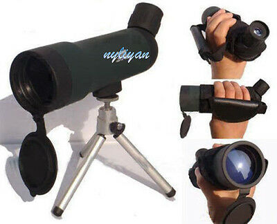 Top 20X50 Power Astronomical Spotting Scope Monocular Telescopes with Tripod