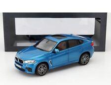 2015 BMW X6 M F86 Blue Metallic Special Edition Model Car 1/18 NOREV US SELLER