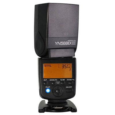 YONGNUO YN-568EX III TTL Wireless Flash Speedlite f Canon 5D II III 7DII 60D 70D