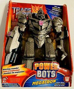 "Transformers ""Revenge of the Fallen"" Power Bots MEGATRON - New in the Box -RARE!"