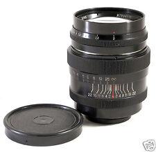 JUPITER-9 85mm f2 BLACK RF Leica M39 L39 LTM M USSR Zeiss Sonnar 90 M4/3 Fuji FX