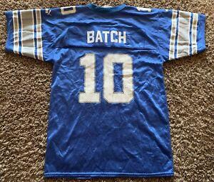 Details about Detroit Lions Charlie Batch Football Jersey Youth Medium 10-12 Puma NFL 90s
