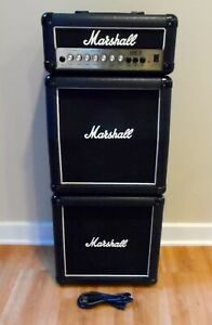 VTG Marshall LEAD 15 G15MS Watt Guitar Amp Amplifier MINI MICRO FULL STACK 2 Cab