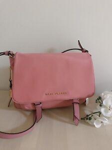 87901bb3335c Marc Jacobs Zip That Small Messenger Crossbody Bag Canyon Pink Gold ...