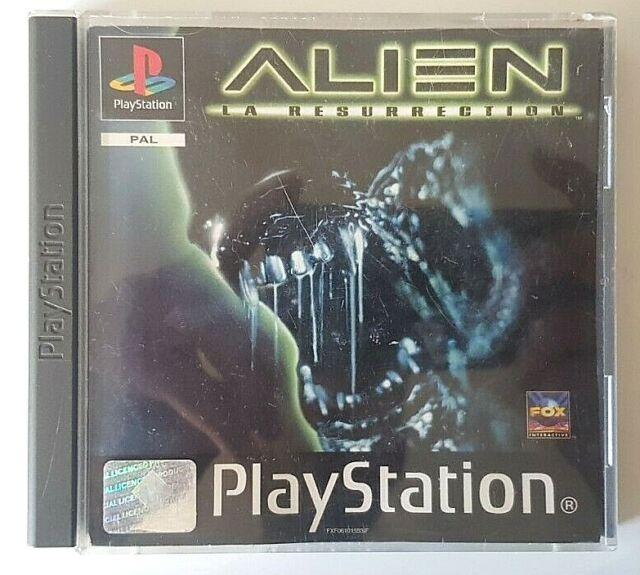 Alien La Ressurection - PlayStation 1 PS1 - PAL