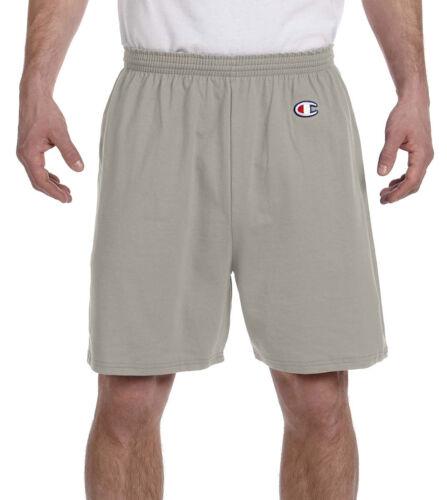 Champion Men/'s Elastic Drawstring Waistband Jersey 100/% Cotton Short 8187