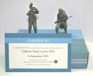 Atlas Editions 1/24 Officer and Infantryman 1914 HE11