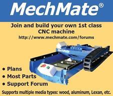 MechMate CNC Wood Router Plans