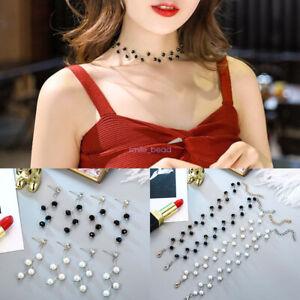 3-Pcs-Set-Fashion-Charm-Jewelry-Pendant-Chain-Pearl-Necklace-Bracelet-Earrings