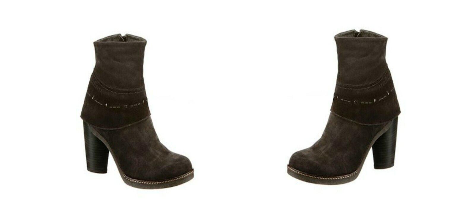 MARC Stiefeletten Stiefel Stiefel Halbstiefel 141938, EU 42, braun