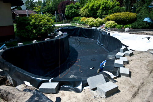 15 Year Warranty 4x11 Pond Liner 4m x 11m PVC 1mm 3,99 €//m2 Garden Pond offer