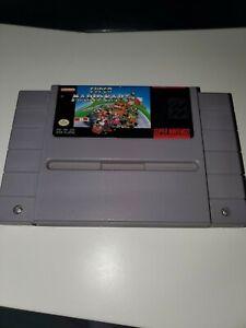 Super Mario Kart - Authentic SNES Super Nintendo Game Tested Working  AUTHENTIC