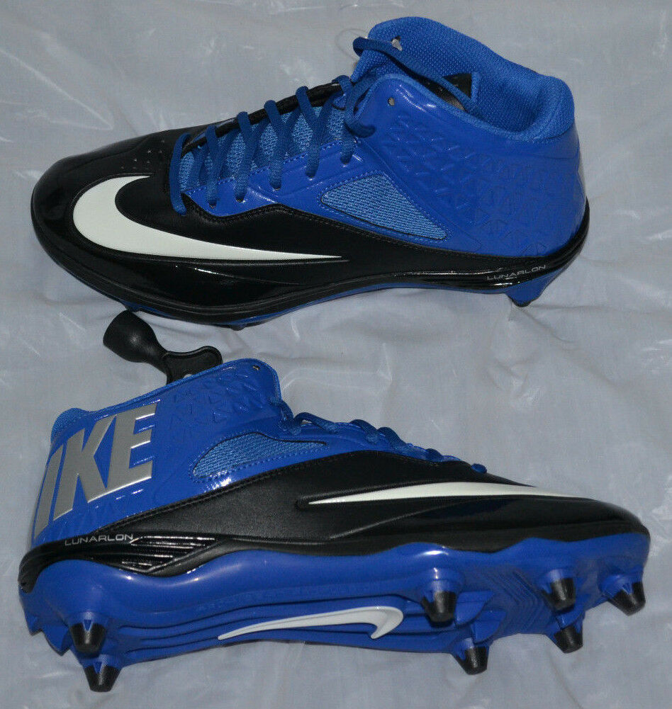 Nike Lunar Code Pro 3/4 D Cleats size 9 style 579668-004 Comfortable and good-looking